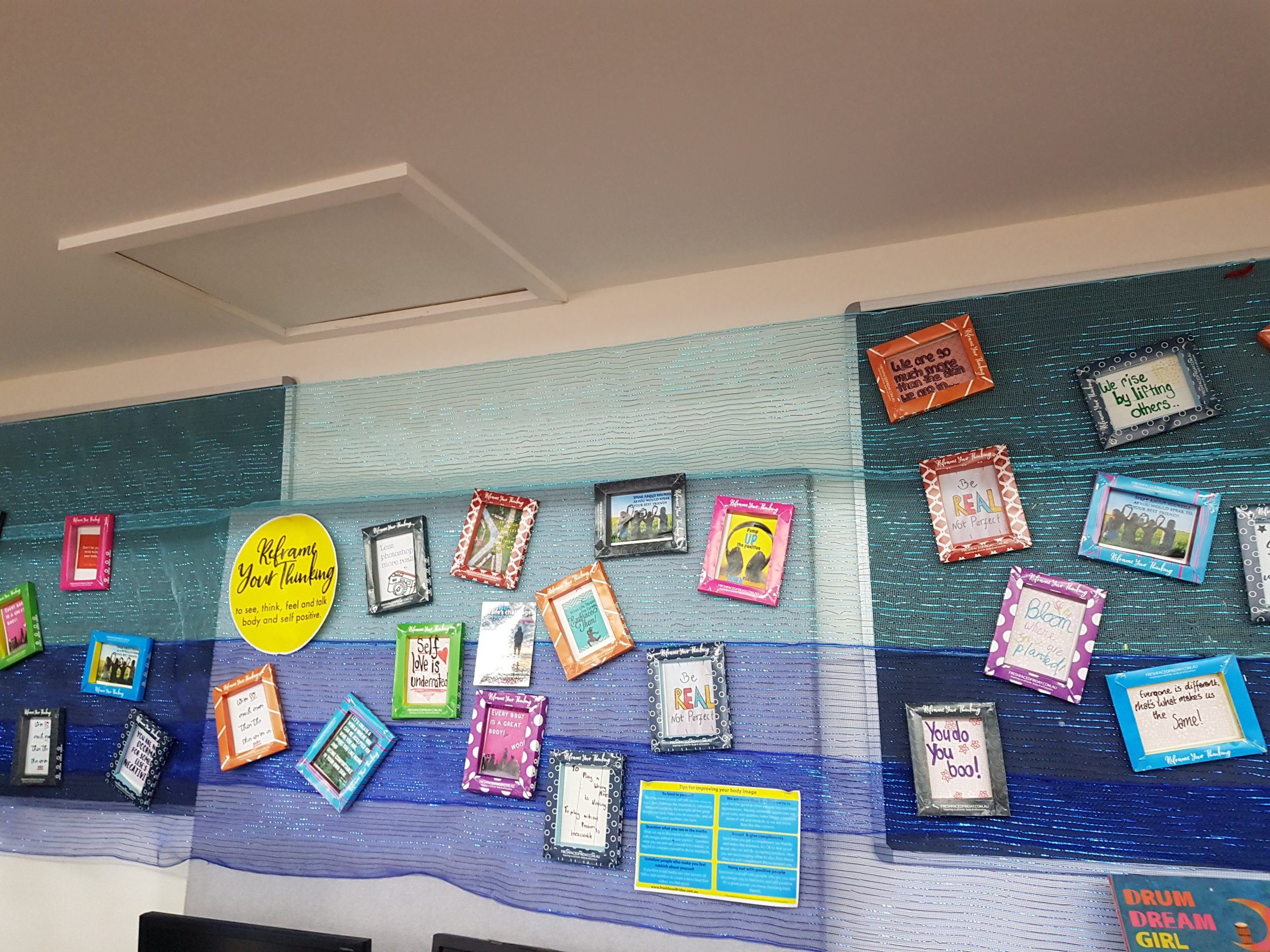 FFF Wedderburn College Display 2