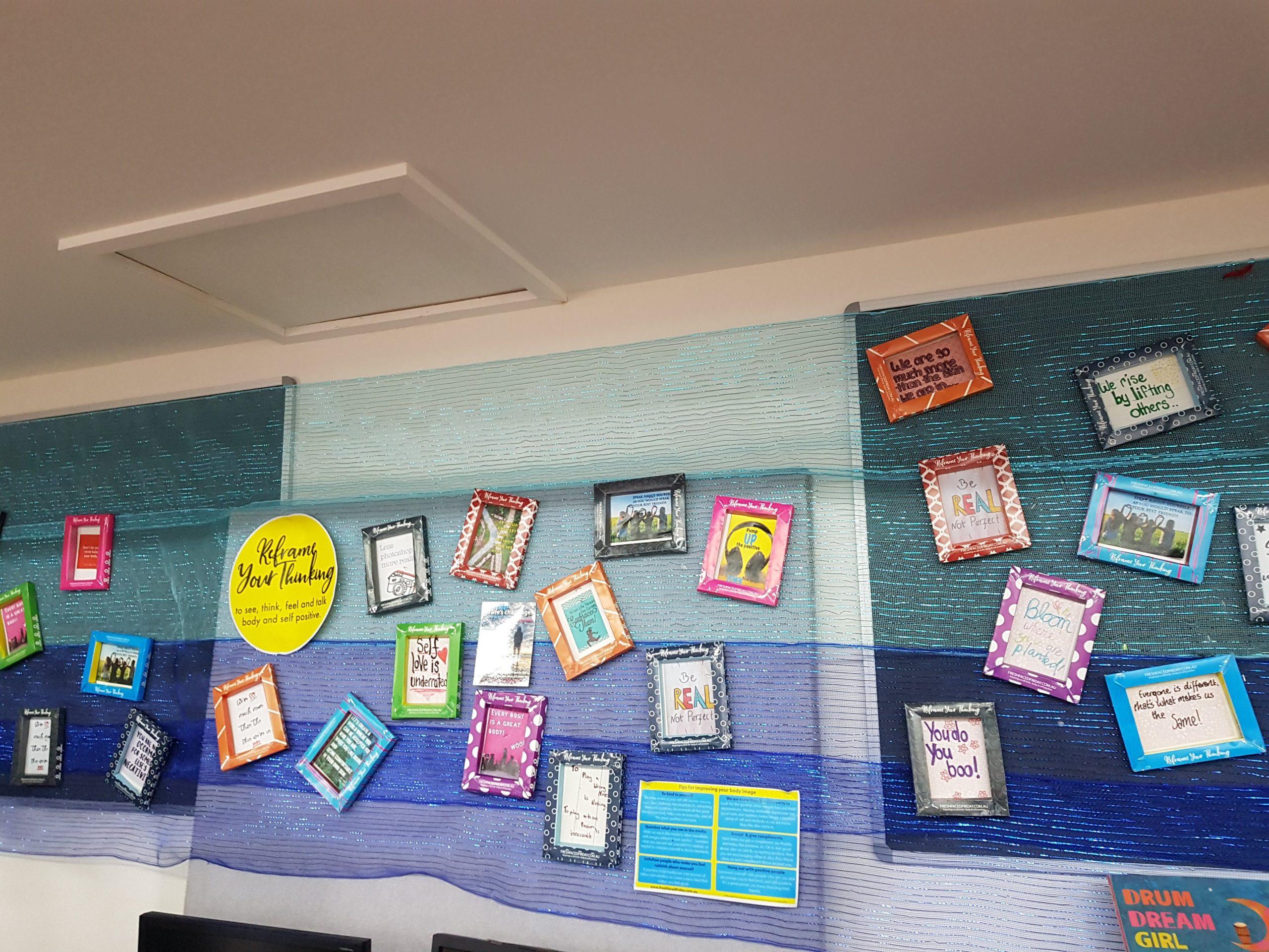 FFF Wedderburn College Display 2