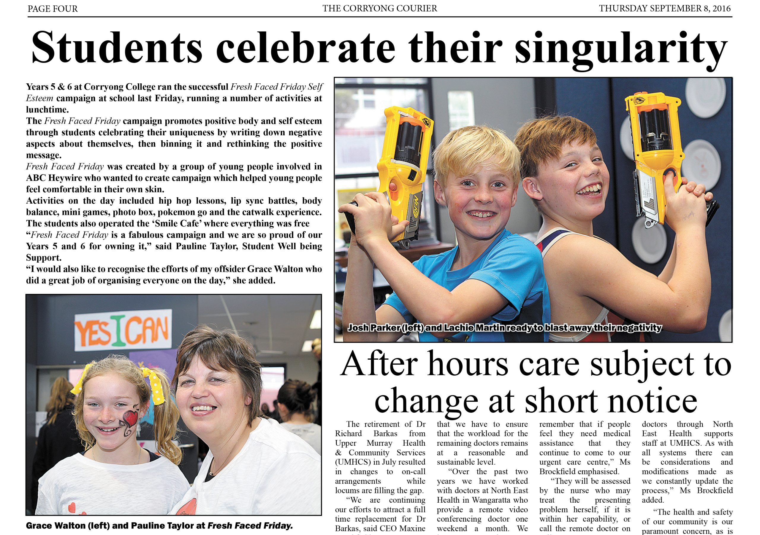 corryong courier - sept 8 2016